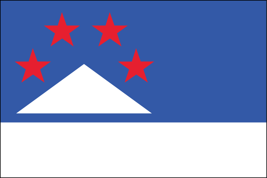 VERMONT: I updated the original Green Mountain Boys flag used by the Vermont militia of the 1770s.