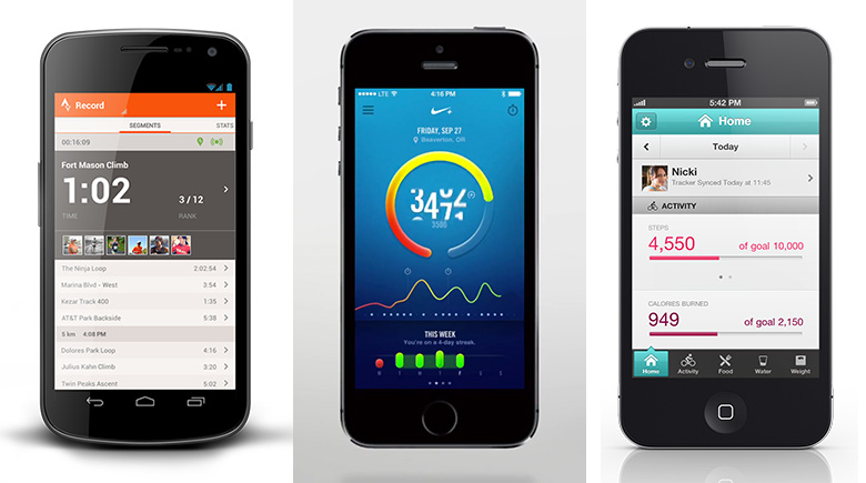 Quantified-self apps
