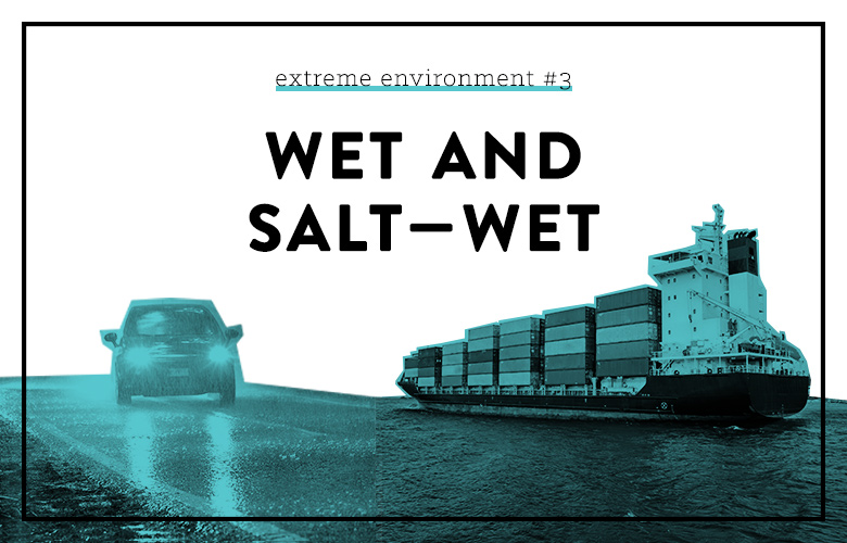 product design for wet and salt-wet