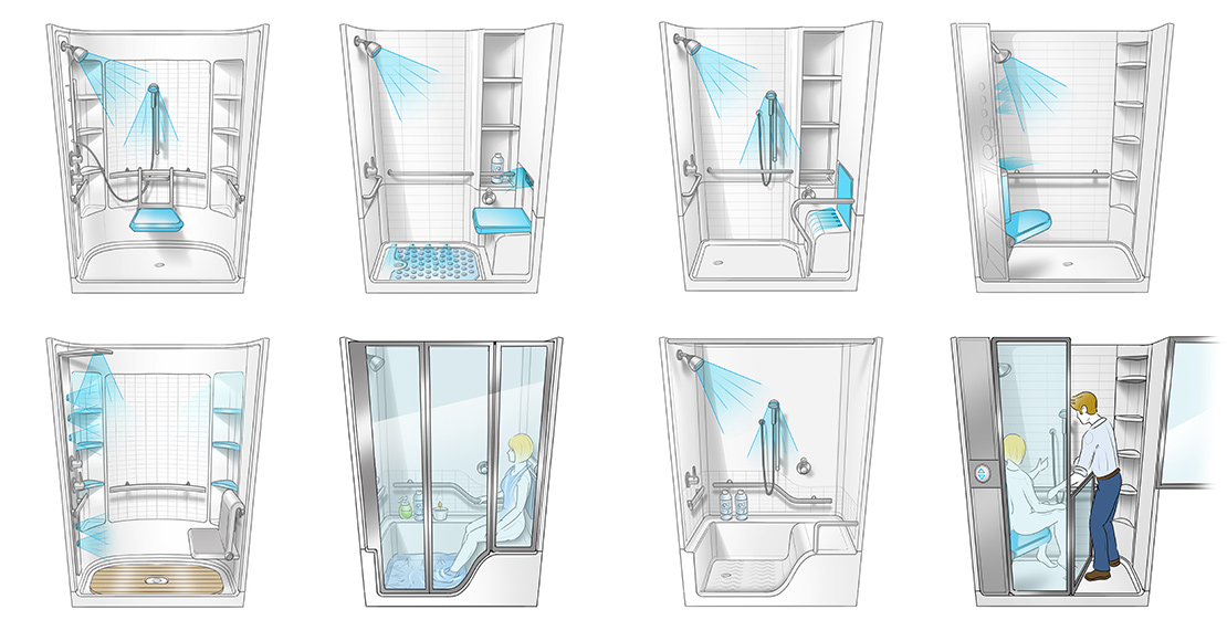 Jacuzzi Hydrotherapy Shower |Bresslergroup