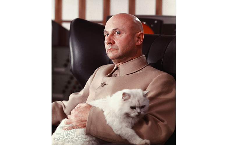 Blofeld With Cat