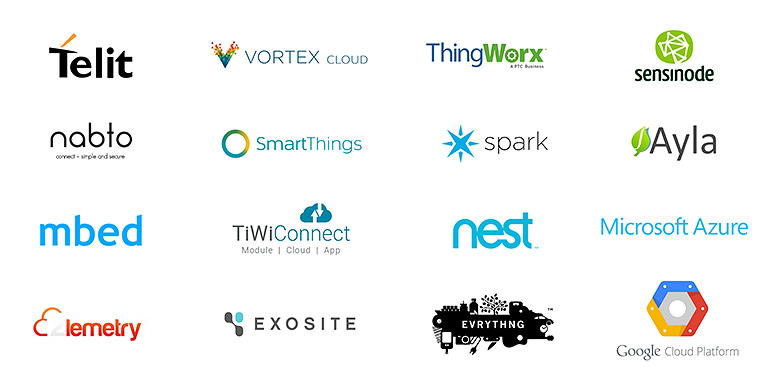 IoT product development - cloud providers