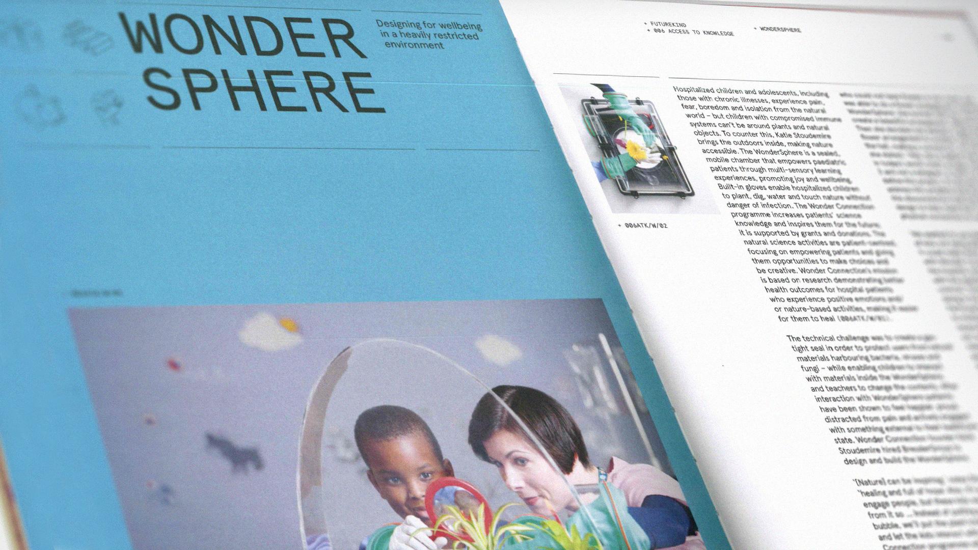 WonderSphere in New Book,