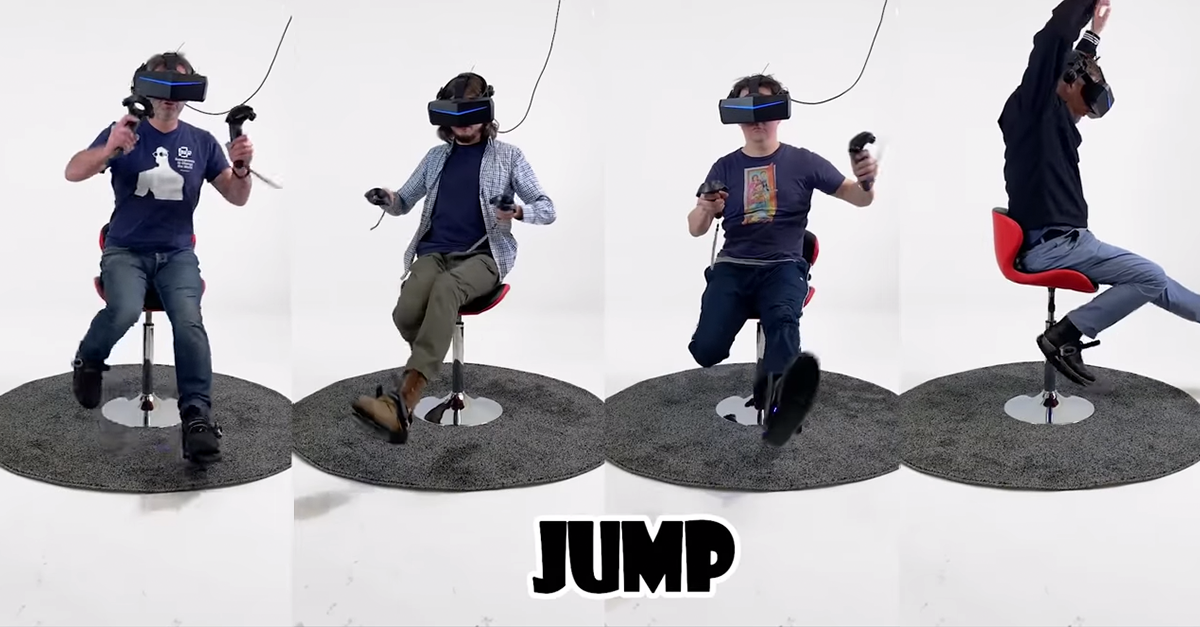 Shoe slip-on style devices provide the next level of sensory experience for VR/gaming.