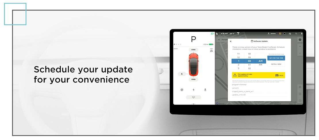 Tesla and over-the-air updates
